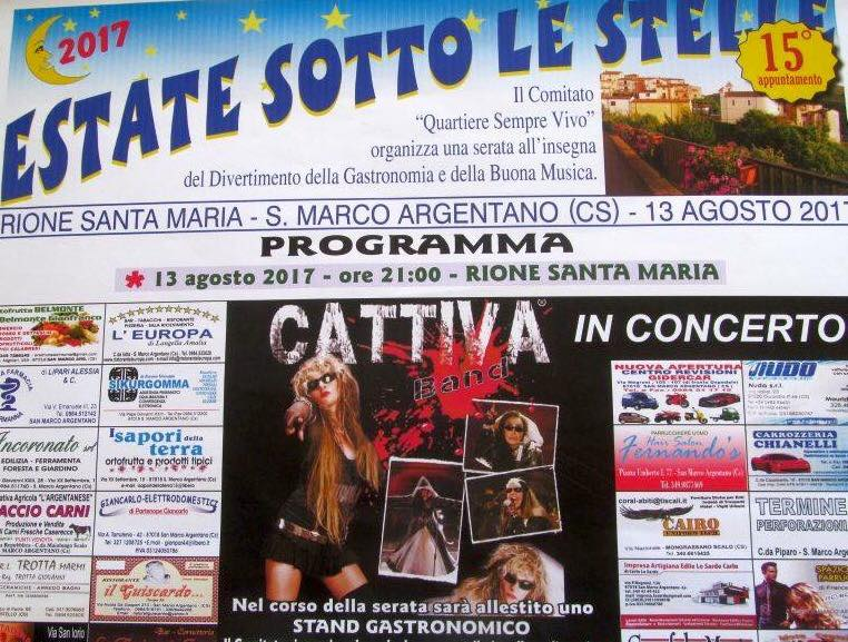 Estate sotto le stelle
