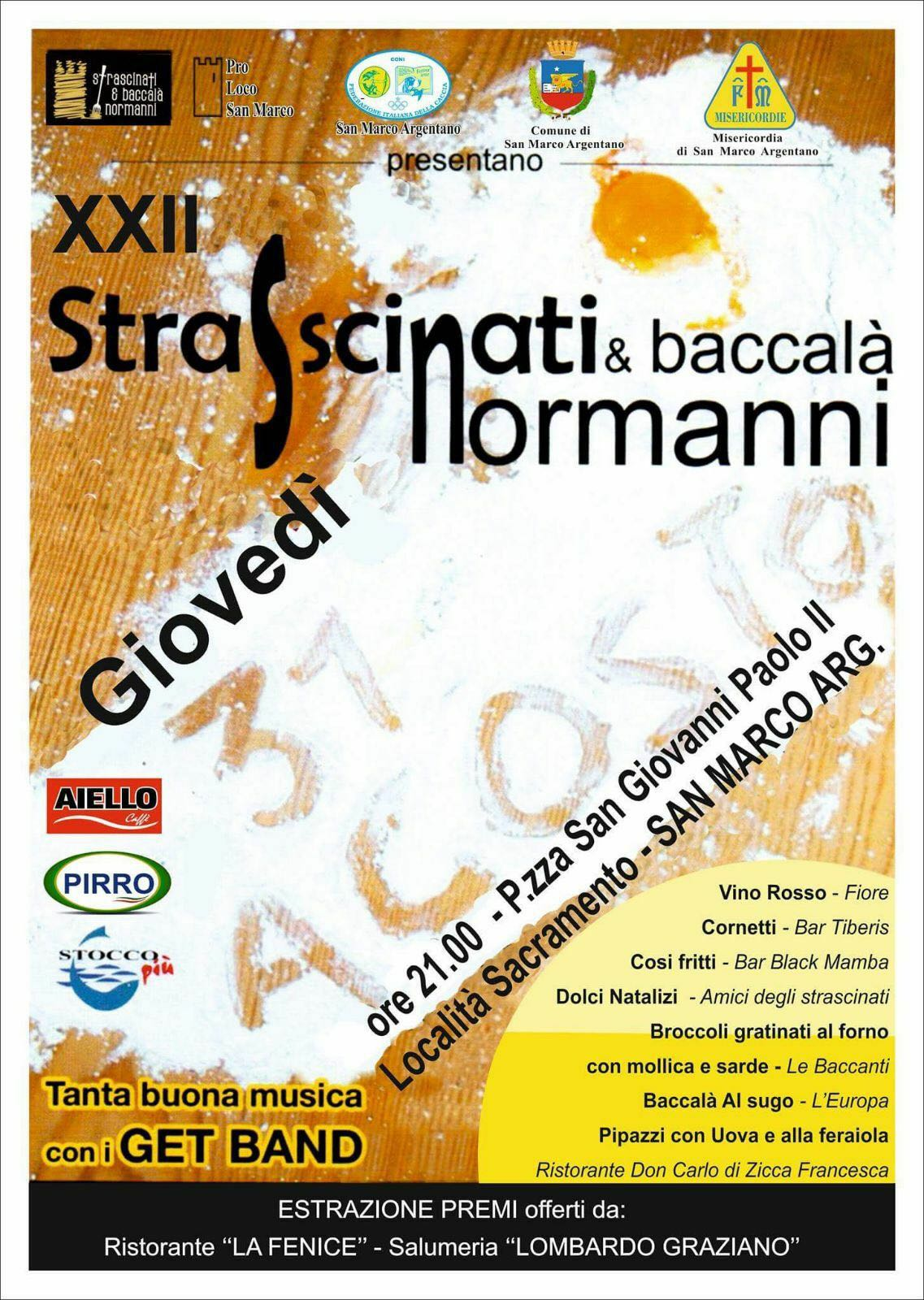 Strascinati Normanni & Baccalà