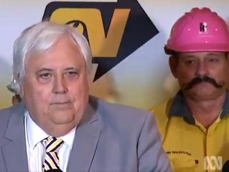 Palmer's moustache-clad backup