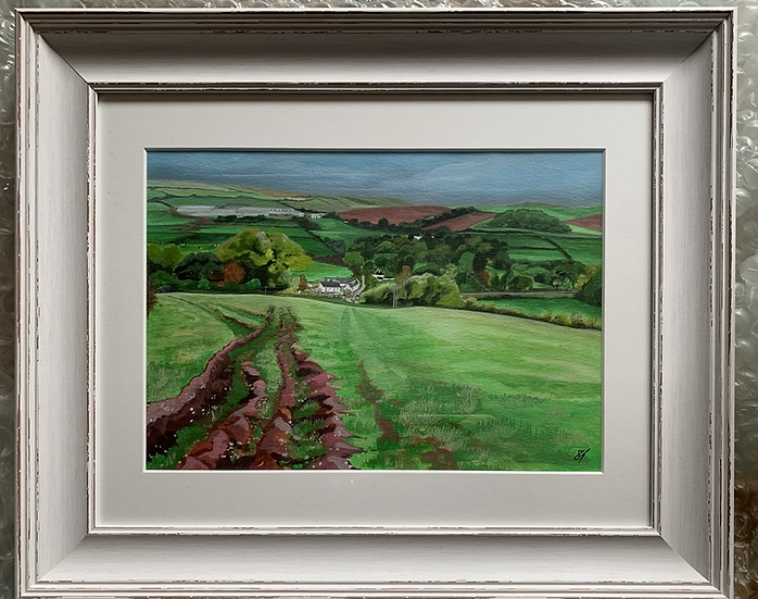 Breakheart Hill ORIGINAL - signed, mounted and framed.