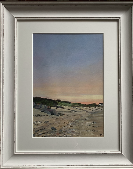 Crow Point ORIGINAL - signed, mounted and framed.