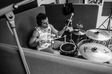 Ragdoll Sunday recording session