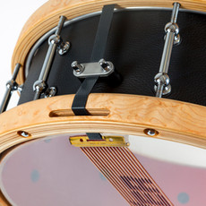 Leatherclad snare with new snares and new snare throw off.