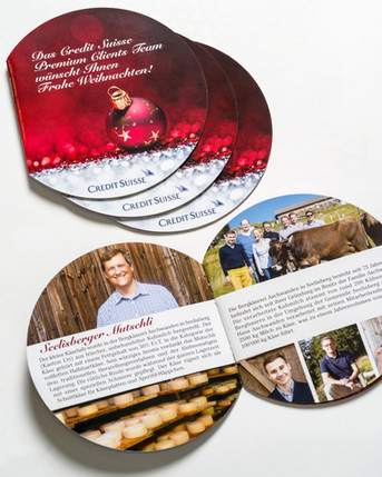 Credit Suisse Christmas booklet