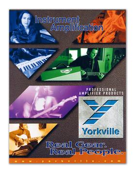 Yorkville Sound, Instrument Amplification