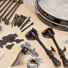 imported parts waiting for assembly.