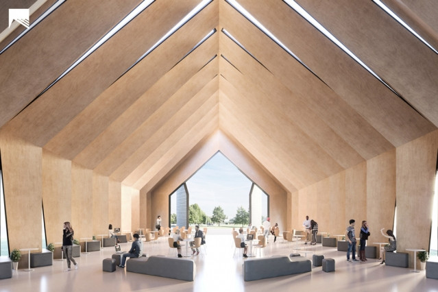 Mass Timber Structure in MIT