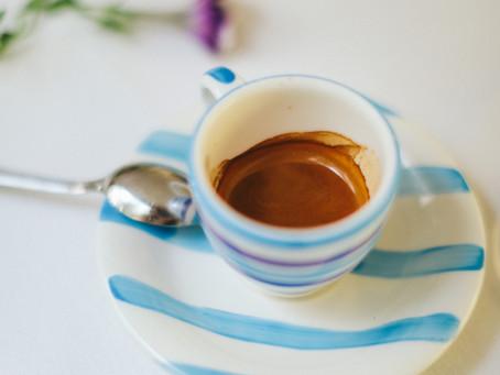 Ein Caffè am Morgen vertreibt Kummer & Sorgen