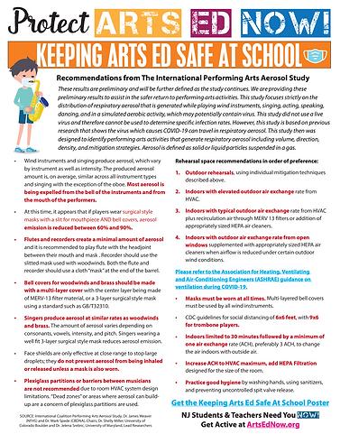 Keeping Arts Ed Safe at School