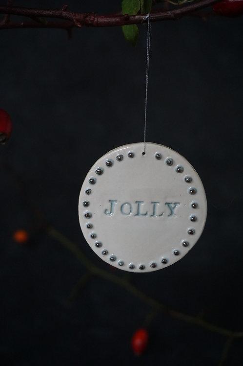 Jolly Ornament Real Platinum