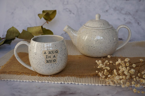 'A hug in a mug' Mug
