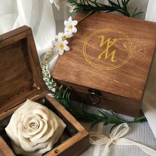 Porcelain Rose With Gift Box