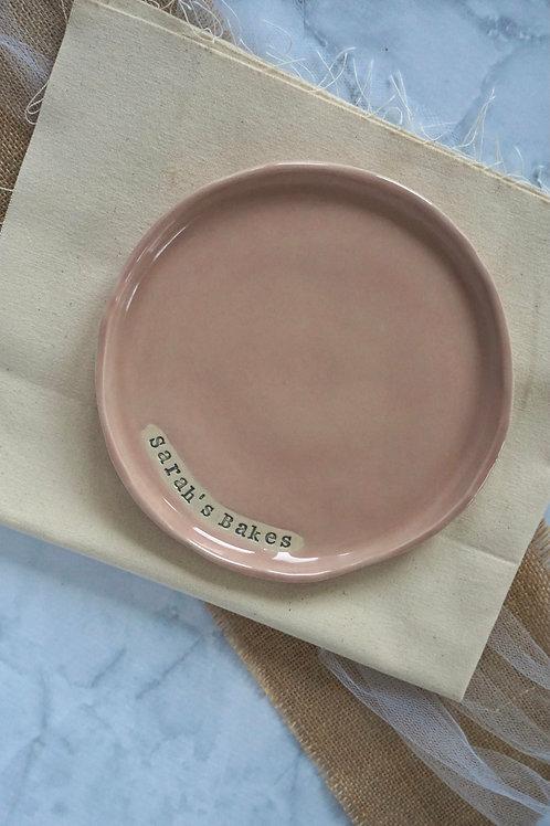 Personalised Cake Plate