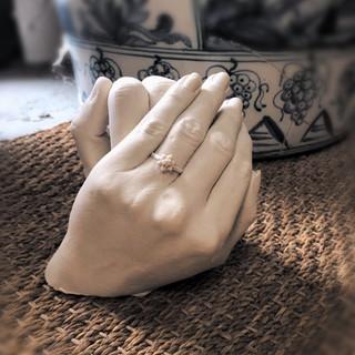 Couples Hand Cast
