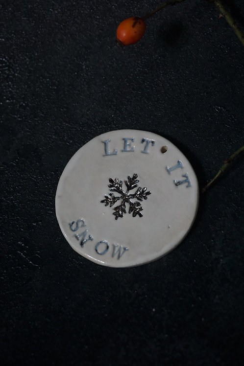 Let it Snow Real Platinum