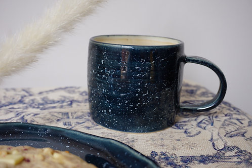 Modern Mug in Stormy Speckle