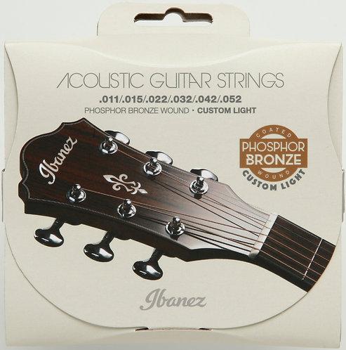 IBANEZ Saiten Set für 6 String .010/.014/.023/.030/.039/.047 Phosphor/Bronze