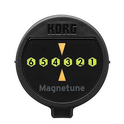KORG Stimmgerät, Gitarre, Magnetune, mit Magnet, schwarz