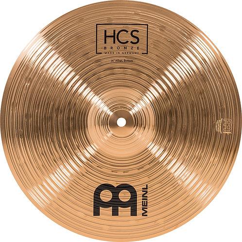 """MEINL Cymbals HCS Bronze HiHat 14"""""""