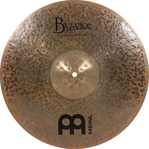 MEINL Cymbals Byzance Dark Big Apple HiHat 15""