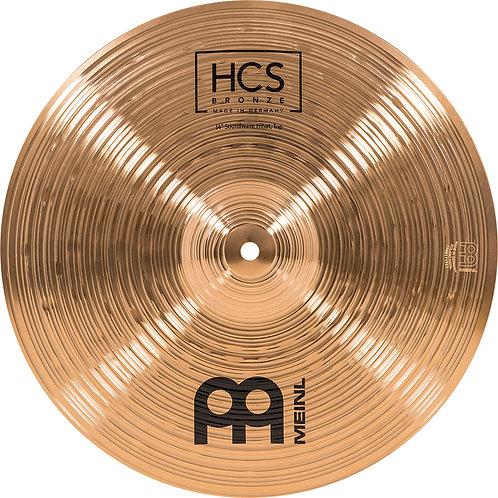 """MEINL Cymbals HCS Bronze Soundwave HiHat 14"""""""