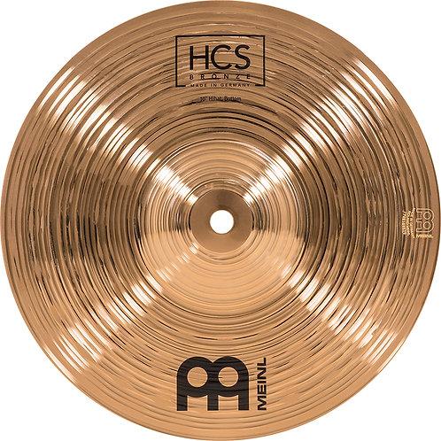 """MEINL Cymbals HCS Bronze HiHat 10"""""""