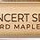 Thumbnail: MEINL Stick & Brush Concert SD1 Round Wood Tip Drumstick