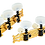 Thumbnail: Classic Stimmmechaniken Set gold/weiß standard