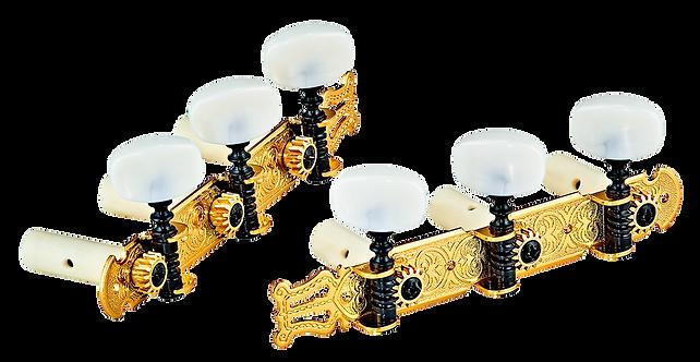 Classic Stimmmechaniken Set gold/weiß standard