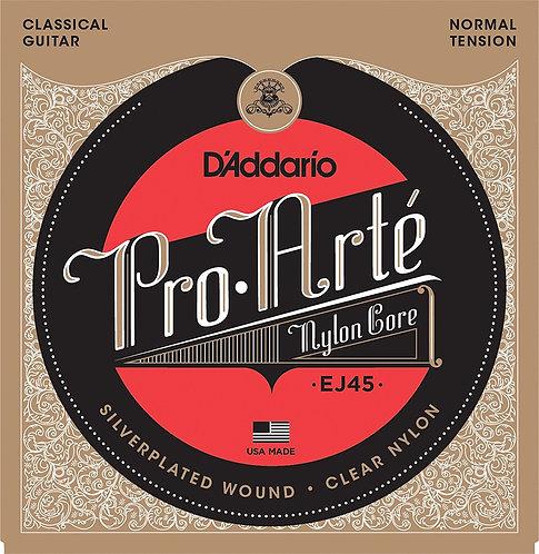 D'Addario EJ45 Pro-Arte Satz Nylonsaiten für Konzertgitarre