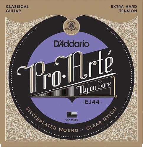 D'Addario Saiten Klassikgitarre Pro-Arte Nylon extrastraffe Spannung.029-.045