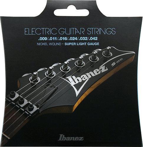 IBANEZ Saitensatz E-Gitarre Nickel Wound 6-Saiter Super Light 9-42