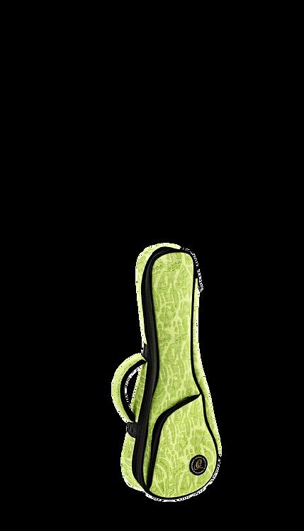 ORTEGA Gigbag für Sopran Ukulelen Denim Look Green