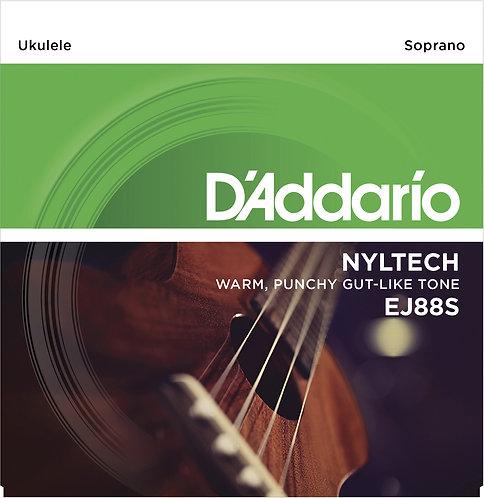D'Addario Saitensatz Ukulele, Sopran Nyltech .024, .030, .036, .026