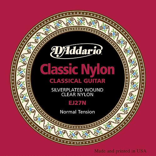 D'Addario Schüler-Saitensatz Klassikgitarre Nylon normale Spannung .029 - .045
