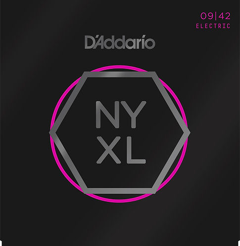 D'Addario Saitensatz E-Gitarre Nickel Wound Super Light, 09-42