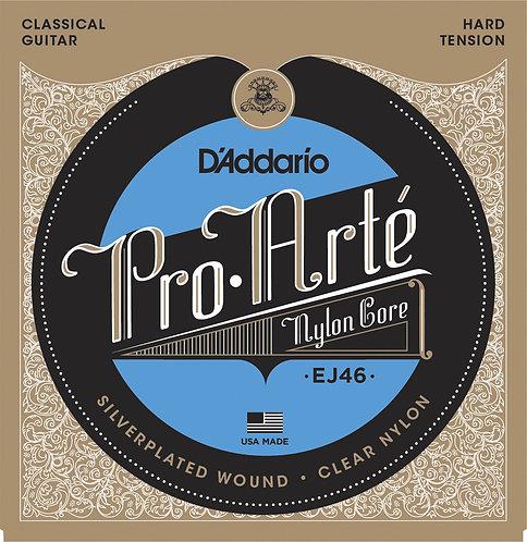 D'Addario Saitensatz Klassikgitarre Pro-Arte Nylon straffe Spannung, .029-.044