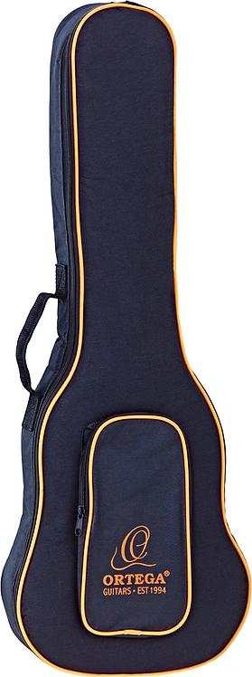 ORTEGA Economy Tasche Konzert Ukulele schwarz/orange