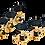 Thumbnail: ORTEGA Classic Stimmmechaniken Set gold/schwarz Deluxe