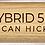 Thumbnail: MEINL Stick & Brush Hybrid 5B Wood Tip Drumstick