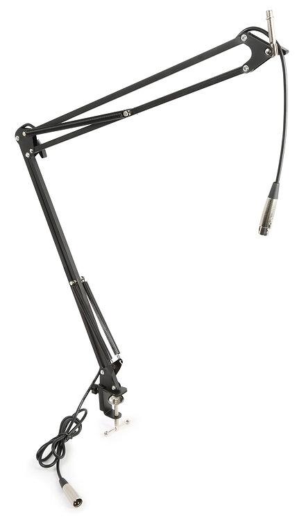 Vonyx Tisch-Mikrofonarm Intergrierter XLR-Kabel