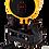 Thumbnail: Ortega GECCOTUNE - chromatischer Clip Tuner 436445 Hz Orange / Schwarz