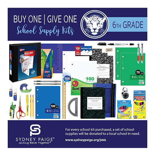 2019-2020 JMIS School Kits - Content by