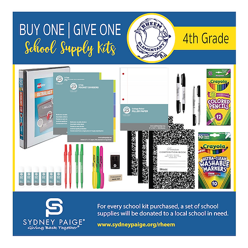 2020-2021 Rheem School Kits - Content by
