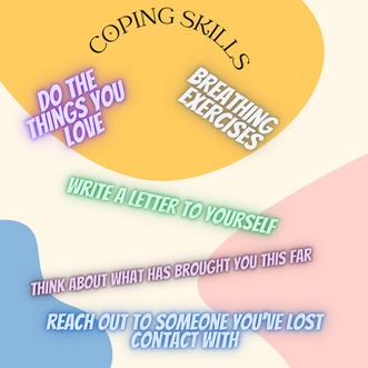 Suicide Awareness Month - Coping Skills Week!