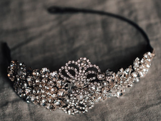 Jo Barnes 'Gracie' Headpiece