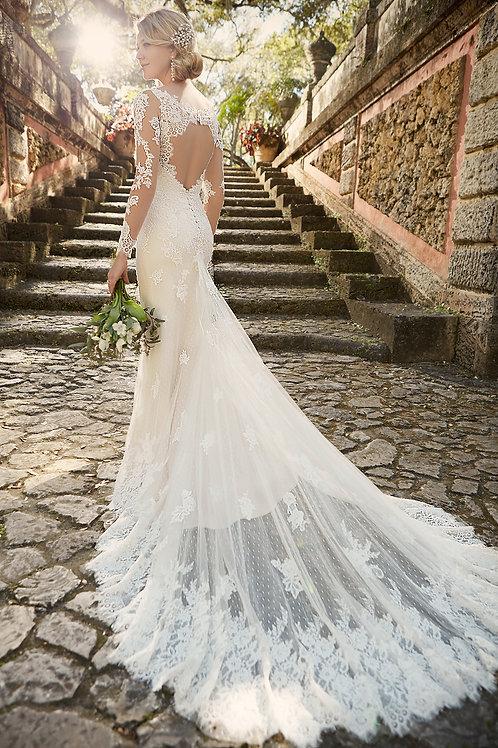 Essence of Australia Lace Wedding Dress D1950