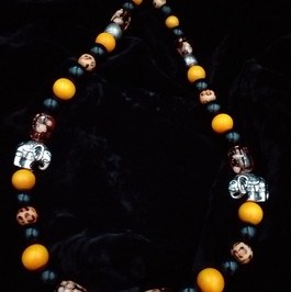 Funky elephant necklace