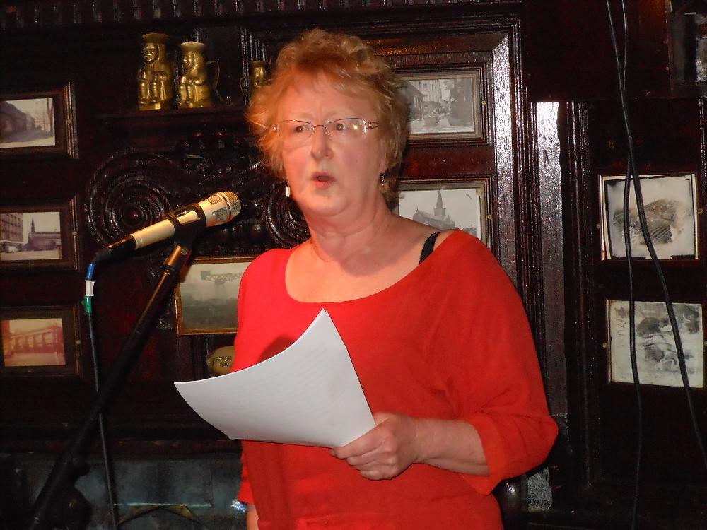 Finola Scott Poet Scotia bar