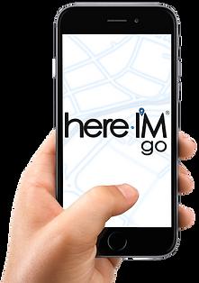 hereIMgoLogo.png, Handling, Kontaktnachverfolgung